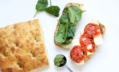 Roasted Tomato Mozzarella Panini Pic