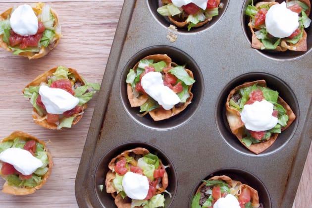 Taco Salad Cups Image