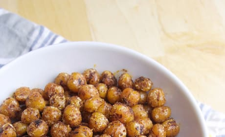 Pan Fried Chickpeas Image