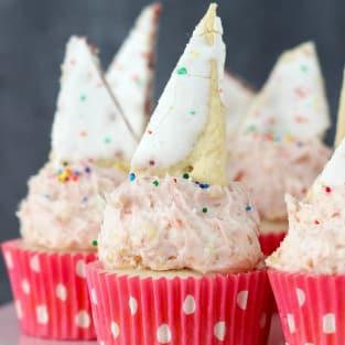 Pop tart cupcakes photo