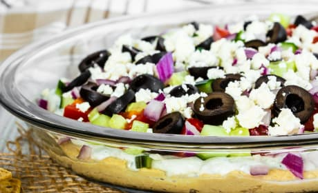 Greek 7 Layer Dip Image