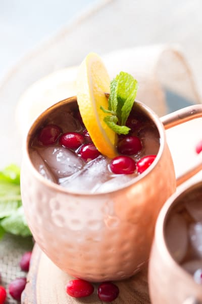 Cranberry Orange Moscow Mule Image