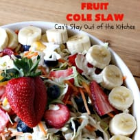 Fruit Cole Slaw