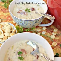 Teresa's New England Clam Chowder