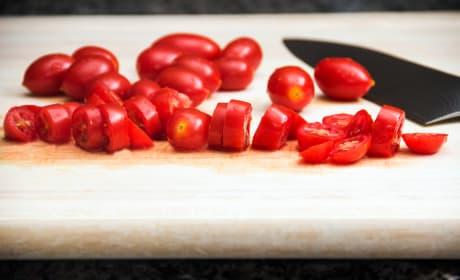 Diced Tomato Photo