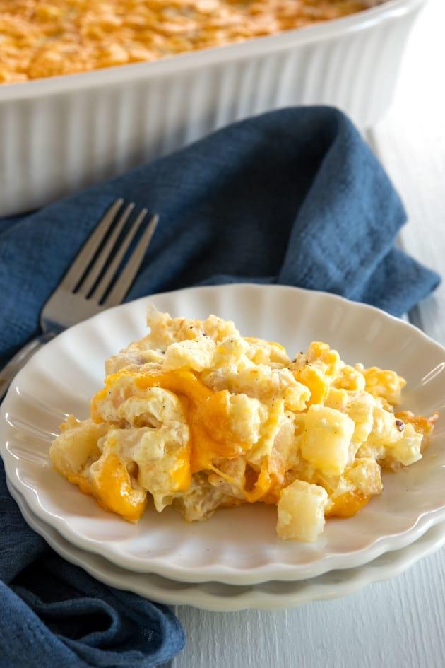 Cheesy Hashbrown Potato Casserole Pic