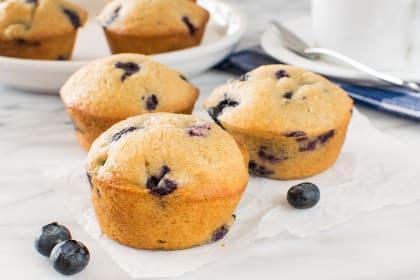 Blueberry Chai Muffins