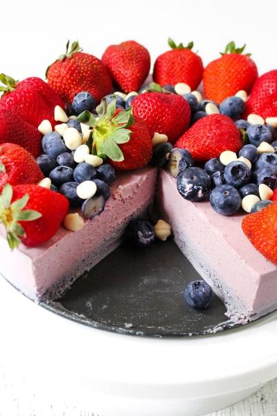 Dairy Free Cheesecake Pic
