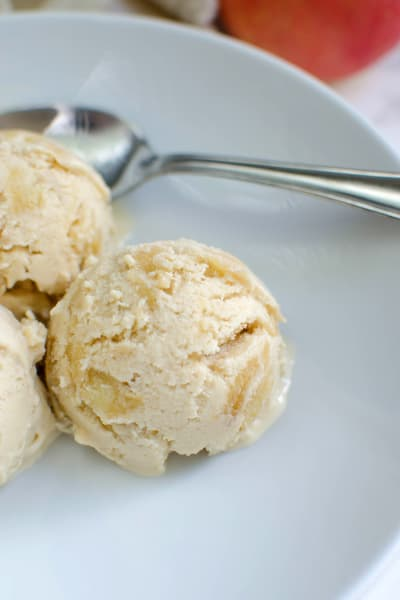 Paleo Apple Pie Ice Cream Image
