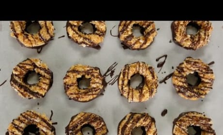 How to Make Girl Scout Samoa Cookies at Home!