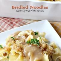Bridled Noodles