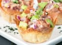 Spicy Tuna Poke and Avocado Wonton Cups