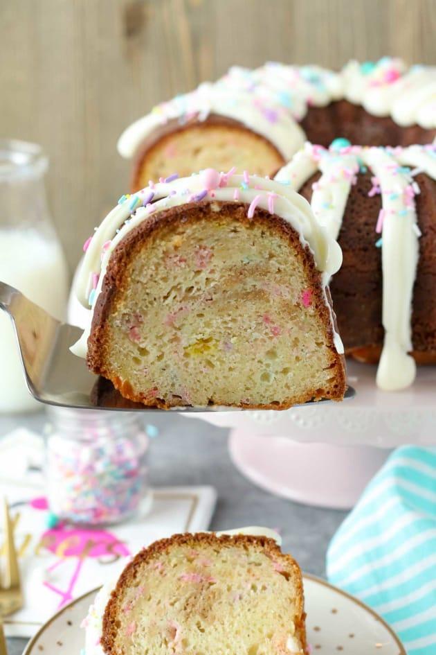 Funfetti Cheesecake Bundt Cake Image