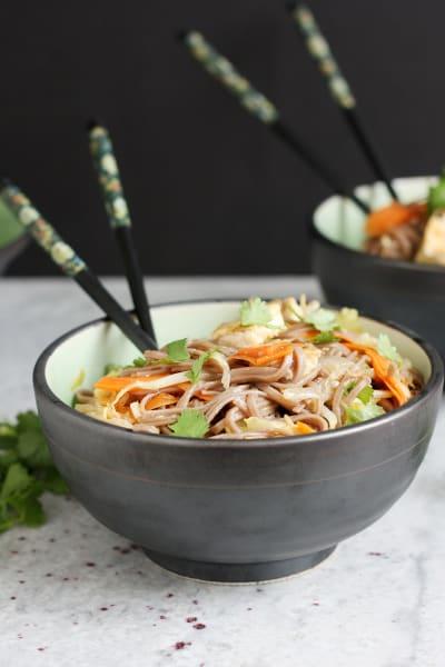 Sesame Tofu Noodles Picture
