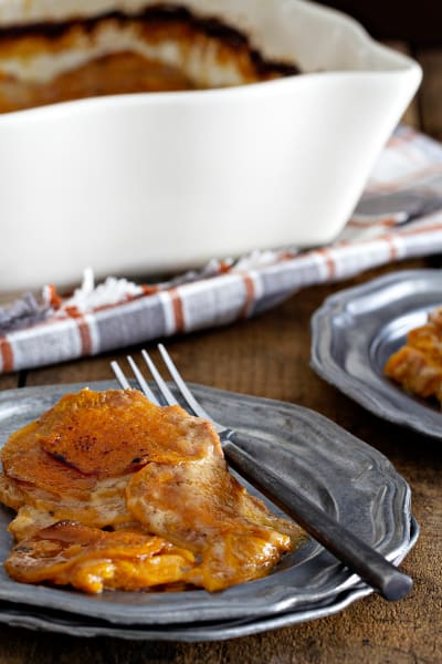 Sweet Potato Gratin Picture