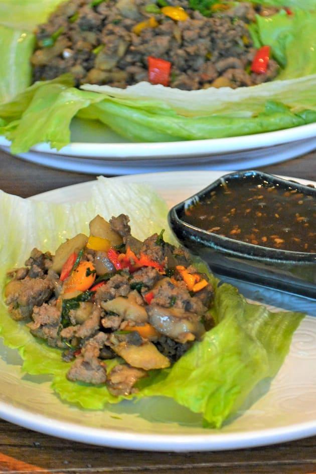 Asian Turkey Lettuce Wraps Picture