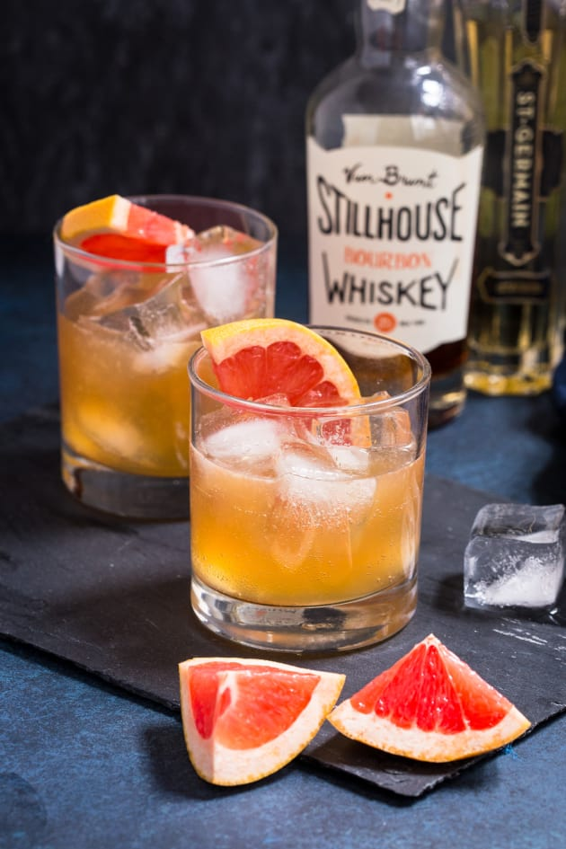 Grapefruit Whiskey Sour Picture