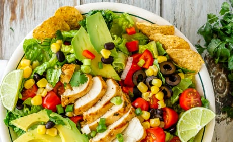 Chicken Taco Salad Picture