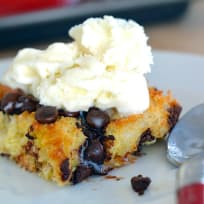 Chocolate Chip Bread Pudding Recipe
