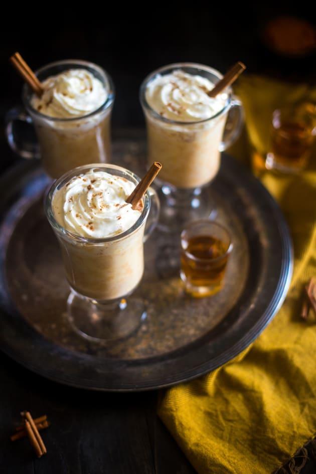 Maple Pumpkin Bourbon Steamer Image