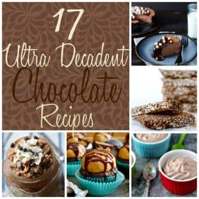 17 Ultra Decadent Chocolate Recipes