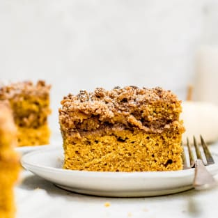 Pumpkin coffee cake photo