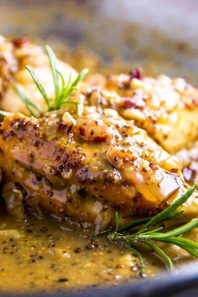 Honey Mustard Chicken with Bacon Image