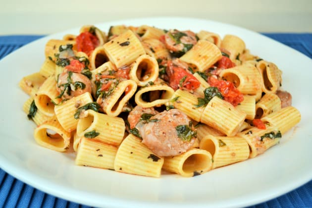 Rigatoni with Sausage Picture