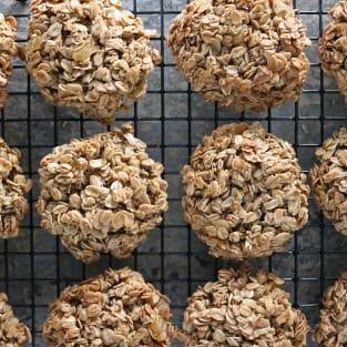 Ginger granola breakfast cookies photo