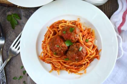 Gluten Free Baked Italian Meatballs