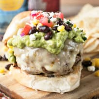 Southwest Burgers with Guacamole Recipe