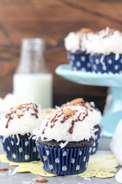 Almond Joy Cupcakes Image