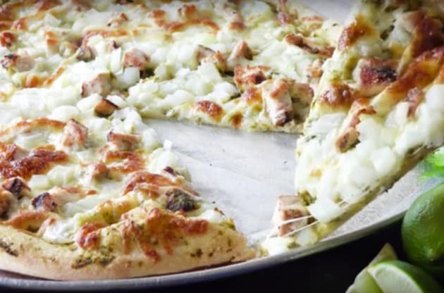 Cilantro Lime Chicken Pizza