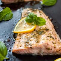 Lemon Basil Salmon Recipe