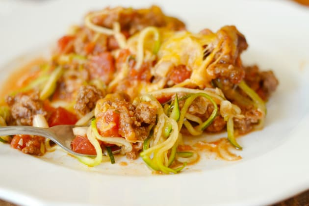Taco Zoodle Casserole Photo