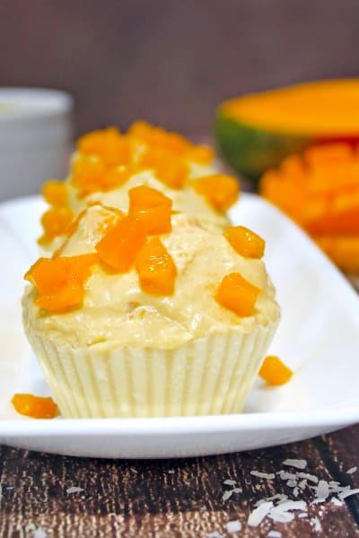 Mango Coconut Pudding Image