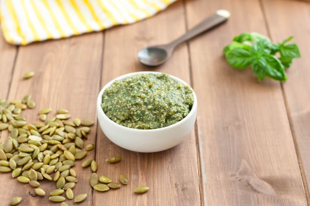 Gluten Free Pasta Salad with Pumpkin Seed Pesto Pic