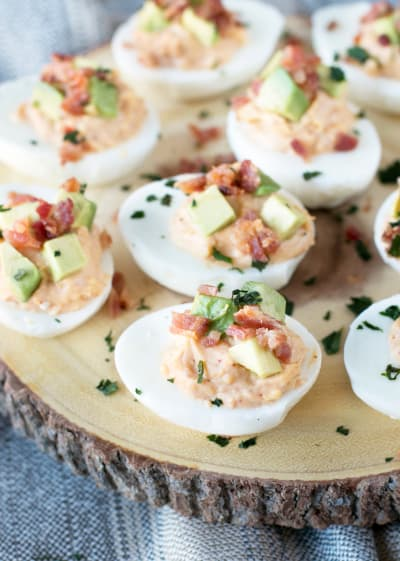 Chipotle Bacon Deviled Eggs Pic