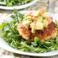 Crispy Crab Cakes with Avocado Grapefruit Salsa Recipe