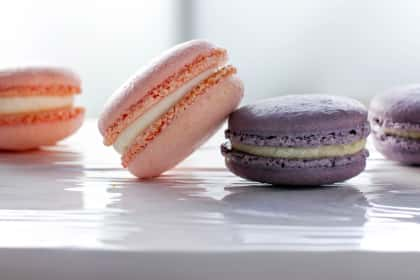 Rose & Lavender Macarons & Silpat Giveaway