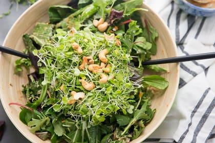 Thai Cashew Chicken Salad