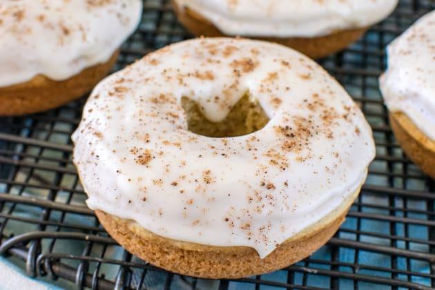 Eggnog Donuts Photo