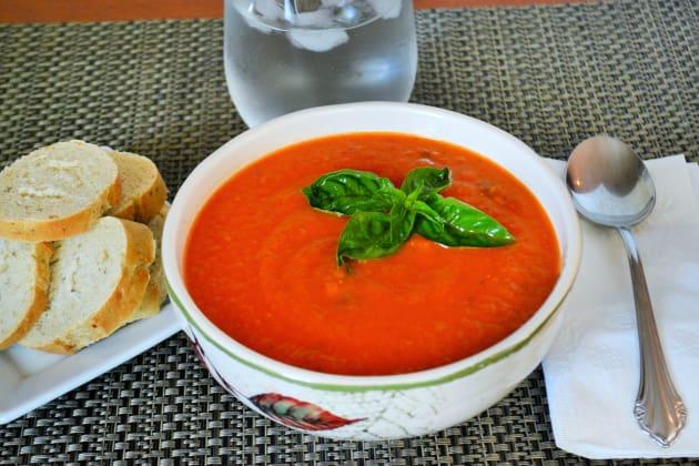 Vegan Tomato Soup Pic