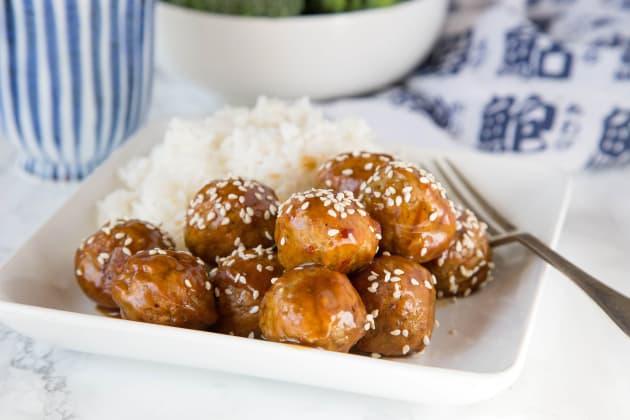 Kung Pao Chicken Meatballs Photo