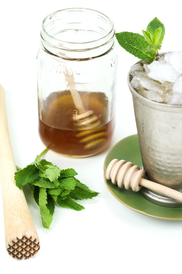 Honey Whiskey Mint Julep Pic