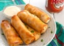 Buffalo Chicken Egg Rolls Recipe