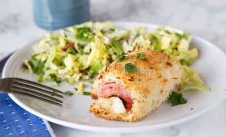 Crispy Chicken Cordon Bleu Recipe