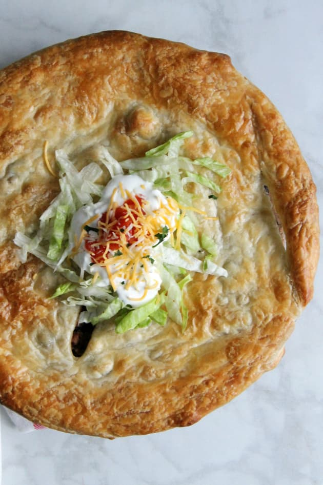 Puff Pastry Taco Pot Pie Picture