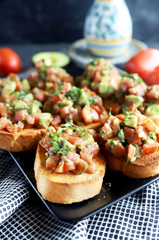 Avocado Bruschetta Picture