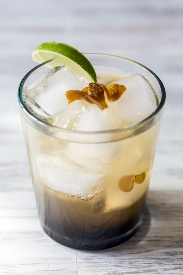 Spicy Ginger Rum Cocktail Image